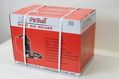 BNIB ATE MIG 100 Welder Machine Flux Wire Variable Feed Control, Red. 115V (US)