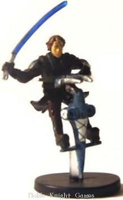 WOTC Star Wars Minis Clone Wars Anakin Skywalker on STAP SW