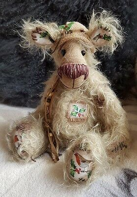 'Robin' By Wee Beary Tales Adorable One Of A Kind Bear