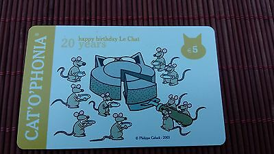 Philippe Geluck Le Chat Catophonia Only 1000 Made Very Rare