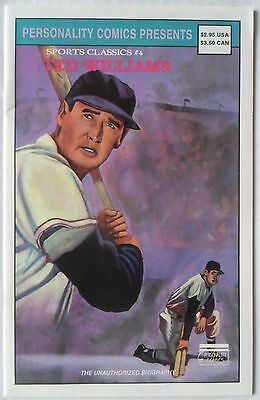 Ted Williams Personality Sports Classics Comic #4 Limited Card Edition 1992