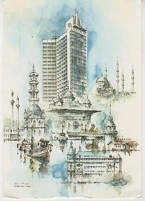 Istanbul. Sheraton Hotel. Art postcard in fair condition. Unused