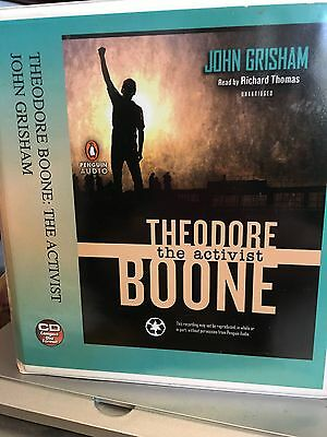 Audiobook - CD John Grisham's Theodore Boone the activist-Read by Richard Thomas