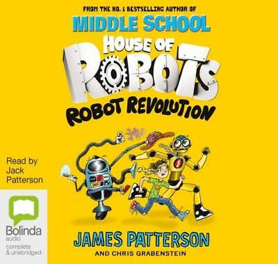 NEW Robot Revolution By James Patterson Audio CD Free Shipping