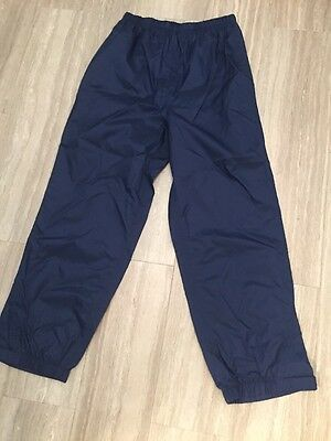LL Bean Kids 10 Rain Pants Outdoor Specialties Waterproof NWT