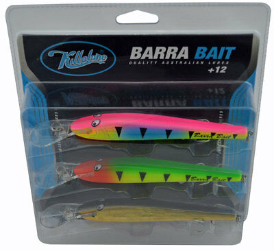 Killalure Barra Bait Value Pack of 3 Lures