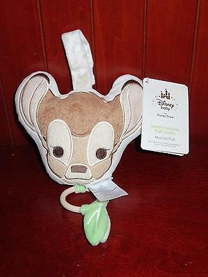 NWT Disney Baby BAMBI MUSICAL Pull Toy Disney Store Twinkle Little Star Lullaby