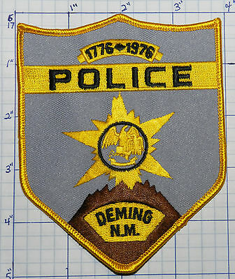 New Mexico, Deming Police Dept Gray Patch