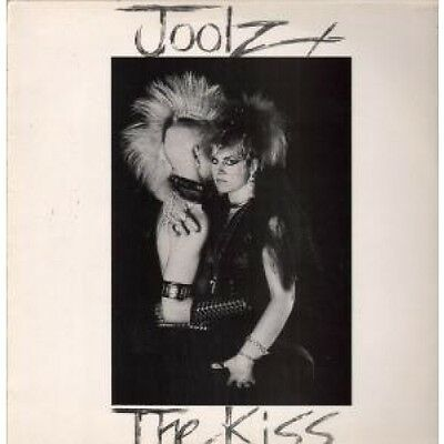 "JOOLZ Kiss 12"" VINYL UK Issue Pressed In France Abstract 1984 3 Track B/W Club"