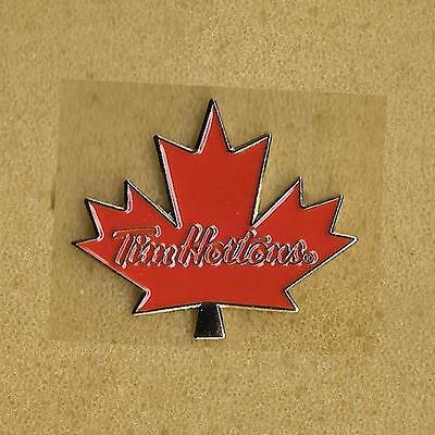 Tim Hortons Fast Food Coffee Donuts Canada Official Pin Old