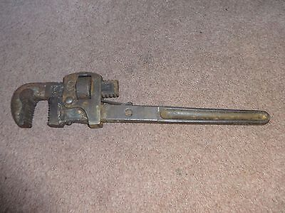 """14"""" Quality Stilsons Pipe Wrench Nice Fair Fast Post"""
