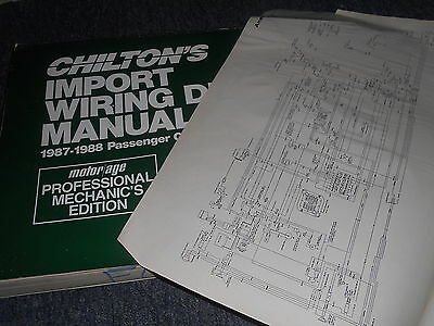 1987 1988 porsche 944 944 turbo and 944s wiring diagrams manual sheets