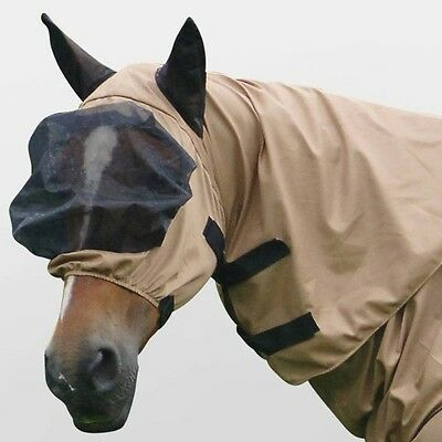 New **  Masta **full Face Mesh Bug Rug Hood  ** Fly Mask **size Small / Pony **