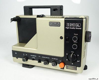 Eumig S 910 Gl High Quality Sound Super 8 Tonfilmprojektor Duoplay Topzustand