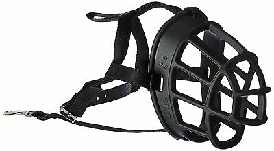 Baskerville Ultra Adjustable Padded Dog Muzzle Plastic Basket Size 5