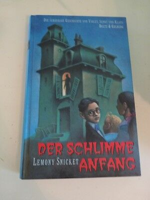 Lemony SNICKETT: Der schlimme Anfang / 2000-  geb. -TOP