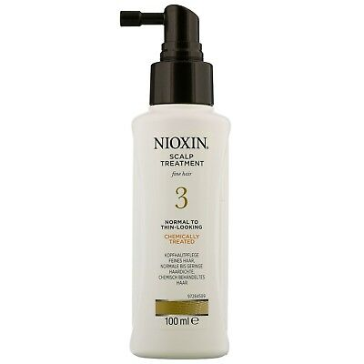 Nioxin System 3 Scalp Treatment for Normal to Thin Looking Fine Hair Chemically