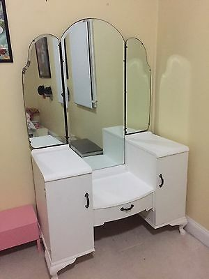 White Vintage Dressing Table