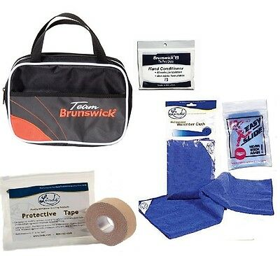Team Brunswick Accessory Bag With Bowling Accessories