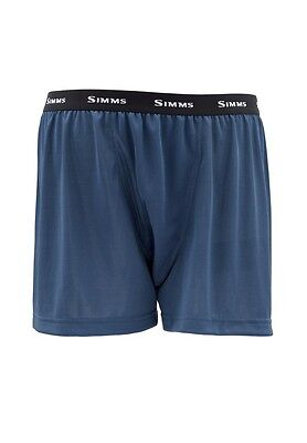 Simms WADERWICK Boxer ~ Navy NEW ~ Closeout Size Small