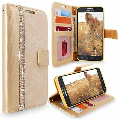 For Samsung GALAXY J3 Prime Emerge 2017 PU Leather Wallet Flip Stand Case Cover