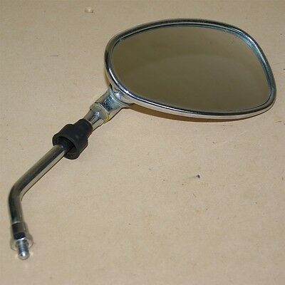 Used Right Hand Chrome Mirror For a VMoto Milan 50cc Scooter