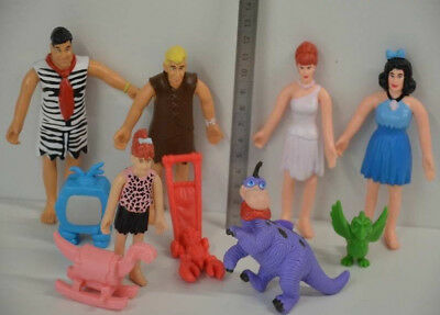 11 ) The Flintstones Feuerstein – Betty Fred Barney Dino Wilma Pebbles Zubehör