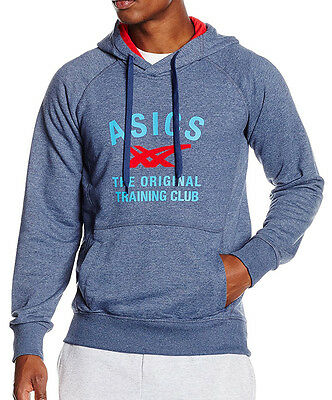 Asics Graphic Mens Hoody - Blue