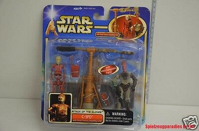 359) Star Wars - C-3PO Attack of the Clones with Droid Factory - 84899 - Hasbro