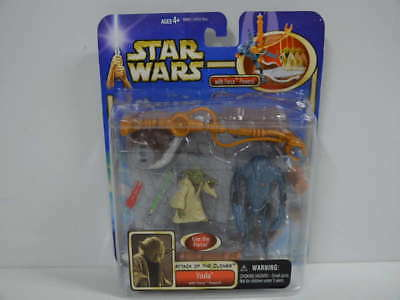 358) Star Wars - Yoda Attack of the Clones with Force Powers - 84900 - Hasbro