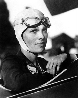 Aviator Amelia Earhart 11x14 Silver Halide Photo Print