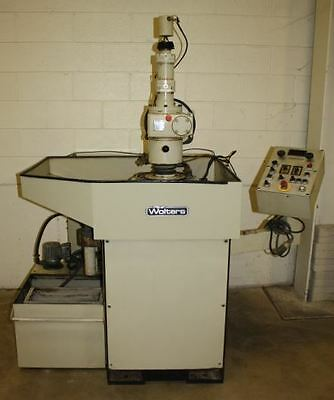 Peter Wolters Microlap AC500 Two-Wheel Flat Abrasive Lapper/Polisher