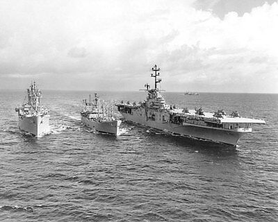 USS Paul Revere and USS Valley Forge 11x14 Silver Halide Photo Print
