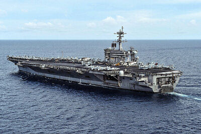USS Theodore Roosevelt CVN 71 In South China Sea 12x18 Silver Halide Photo Print