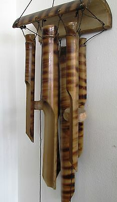 Feng Shui Natural Bamboo Mountain Garden Wind Chimes