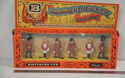 Britains New Metal Models 7225 Ceremonial Toy Soldiers  in OVP   #