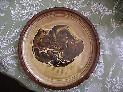 large pottery charger plate