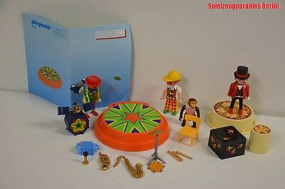 101 ) Playmobil 4231 Zirkus Clown Musiker Kapelle Band Teile ua. #