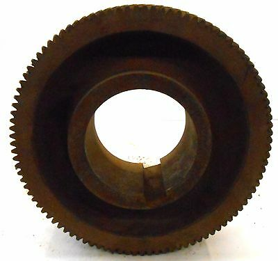 "Unknown Brand Helical Gear, 101 Teeth, 9"" Od, 2 7/8"" Width, 3 3/4"" Id"