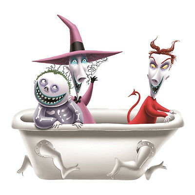 Nightmare Before Christmas Lock Shock and Barrel Ceramic Salt and Pepper Shakers