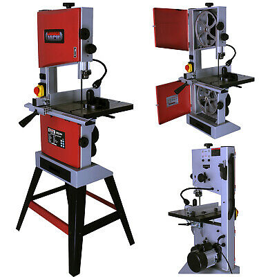 "10"" Professional Woodworking Bandsaw with Cast Table Solid Fence & Blade 240v"