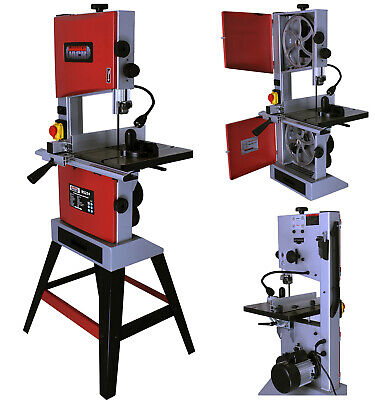 10 Inch Bandsaw 240v With Woodworking Blade Cast Table Top