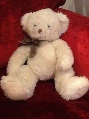 "Teddy Bear Russ Lillian 15"" cream Cuddly Toy Stuffed Soft Beanie Floppy"