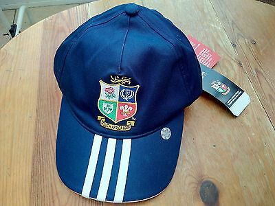 New + Tags British Lions South Africa 2009 Adidas Blue Baseball Cap