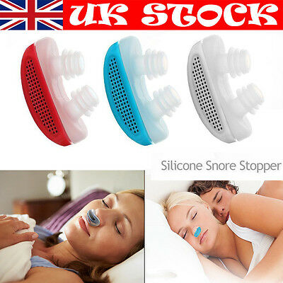 Pro Snoring Care Sleep Device Help Aid Nose Breathing Snore Stopper Air Purifie