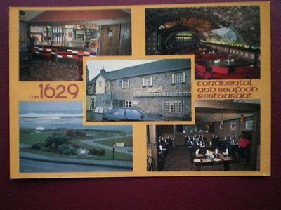 Postcard Moray Lossiemouth The 1629 Continental & Seafood Restaurant