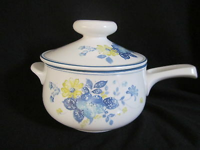 Noritake - GOOD TIMES 9081 - Fondue Pot with Lid - BRAND NEW