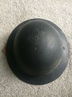 World War 2/Two WWII British ARP Civil Defence/Home Guard Helmet