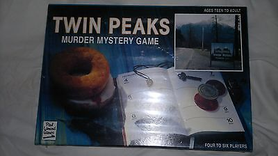 Twin Peaks - Board Game(1991) - Rare Still Sealed/unopened