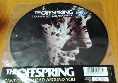 """The Offspring - Can't Get My Head Around You 7"""" Vinyl Single Ref 2/56"""